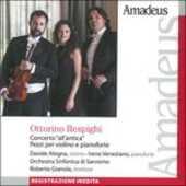 CD Concerto all'antica - Pezzi per pianoforte e violino Ottorino Respighi