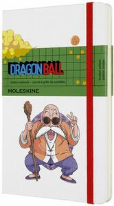 Cartoleria Taccuino Moleskine Dragon Ball Limited Edition large puntinato Maestro Muten. Bianco Moleskine