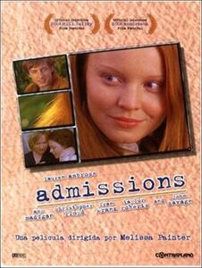 Admissions di Malissa Painter - DVD