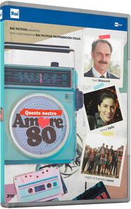 Questo nostro amore 80. Serie TV Rai (3 DVD) di Isabella Leoni - DVD