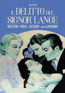 Il delitto del signor Lange (DVD) di Jean Renoir - DVD