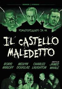Cover Dvd Il castello maledetto. Rimasterizzato in 4k (DVD)