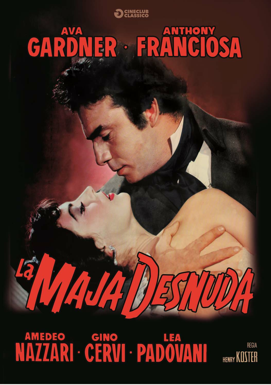 Cover Dvd DVD La maja desnuda