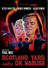Cover Dvd Scotland Yard contro Dr. Mabuse (DVD)