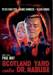 Scotland Yard contro Dr. Mabuse (DVD) di Paul May - DVD