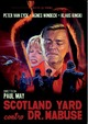 Cover Dvd Scotland Yard contro dr. Mabuse