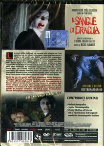Il sangue di Dracula. Restaurato In HD. Con Poster (2 DVD) di Michio Yamamoto - DVD - 2