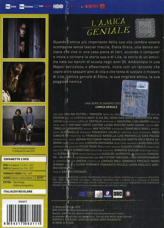 L' amica geniale (2 DVD) di Saverio Costanzo - DVD - 2