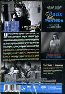 Il bacio della pantera. Restaurato in HD. Con Poster (DVD) di Jacques Tourneur - DVD - 2