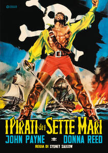 I pirati dei sette mari (DVD) di Sidney Salkow - DVD