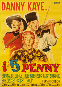 I cinque Penny. Restaurato in HD (DVD) di Melville Shavelson - DVD