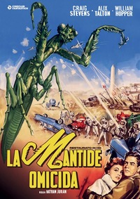 Cover Dvd La mantide omicida. Restaurato in HD (DVD)