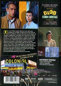 Blob. Fluido Mortale. Special Edition. Restaurato in HD (DVD) di Irvin S. Yeaworth - DVD - 2