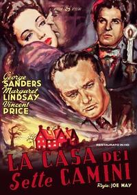 Cover Dvd La casa dei sette camini. Restaurato in HD (DVD)