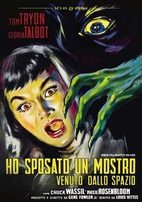 Cover Dvd Ho sposato un mostro venuto dallo spazio. Restaurato in HD (DVD)