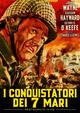 Cover Dvd DVD I conquistatori dei sette mari