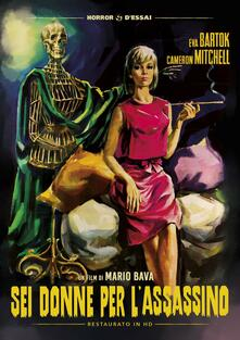 Sei donne per l'assassino. Restaurato in HD (DVD) di Mario Bava - DVD