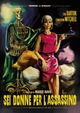 Cover Dvd Sei donne per l'assassino