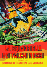 Cover Dvd La squadriglia dei falchi rossi (DVD)