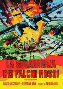 La squadriglia dei falchi rossi (DVD) di Boris Sagal - DVD