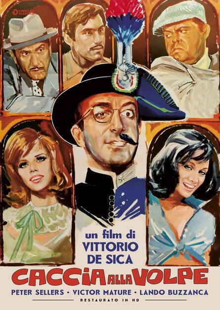 Caccia Alla Volpe Restaurato In Hd Dvd Dvd Film Di Vittorio De Sica Commedia Ibs