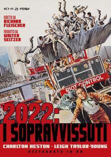 2022 i sopravvissuti. Restaurato in HD (DVD) di Richard Fleischer - DVD