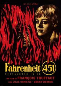 Cover Dvd Fahrenheit 451. Restaurato in HD (DVD)
