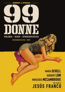 99 donne. Restaurato in HD (2 DVD) di Jesus Franco - DVD
