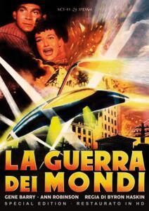 Film La guerra dei mondi (1952). Restaurato in HD. Special Edition con Poster (DVD) Byron Haskin
