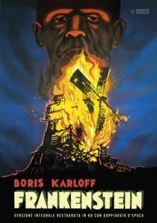Frankenstein. Restaurato in HD. Con Poster (DVD) di James Whale - DVD