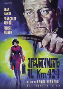 Appuntamento al Km. 424. Restaurato in HD (DVD) di Henri Verneuil - DVD