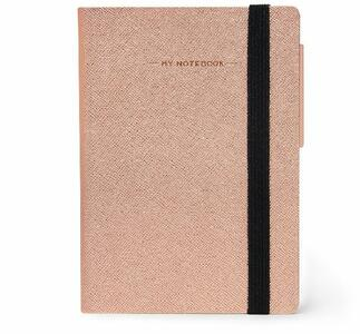 Cartoleria Taccuino Legami My Notebook Small A pagine bianche Rosa Legami