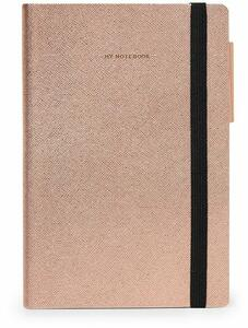 Cartoleria Taccuino Legami My Notebook Medium A righe Rosa Legami