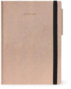 Cartoleria Taccuino Legami My Notebook Large A righe Rosa Legami