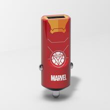 Caricatore USB da auto Marvel. Iron Man