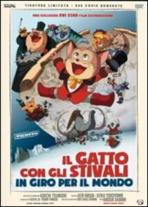 Il Gatto con gli Stivali in giro per il mondo<span>.</span> Ed. limitata e numerata di Hiroshi Shidara - DVD