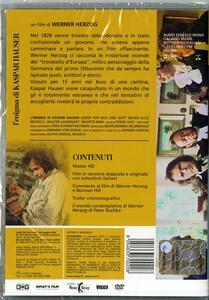 L' enigma di Kaspar Hauser<span>.</span> versione restaurata di Werner Herzog - DVD - 2