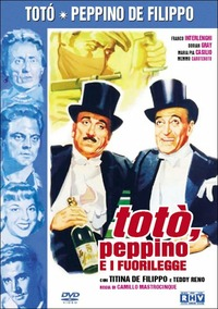 Cover Dvd Totò, Peppino e i fuorilegge (DVD)