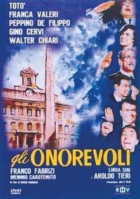 Cover Dvd Totò. Gli Onorevoli (DVD)