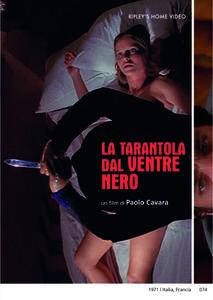 La tarantola dal ventre nero (DVD) di Paolo Cavara - DVD