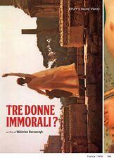 Film Tre donne immorali? Walerian Borowczyk
