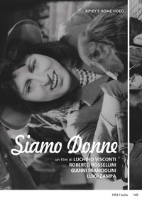 Cover Dvd Siamo donne (DVD)