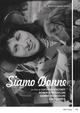 Cover Dvd DVD Siamo donne