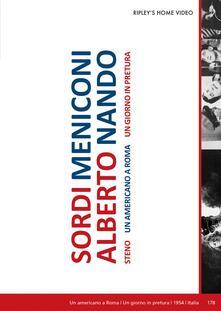Un americano a roma - Un giorno in pretura. Special Edition (2 DVD) di Steno (Stefano Vanzina) - DVD