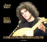 CD Ritus Orphaeos Simone Sorini