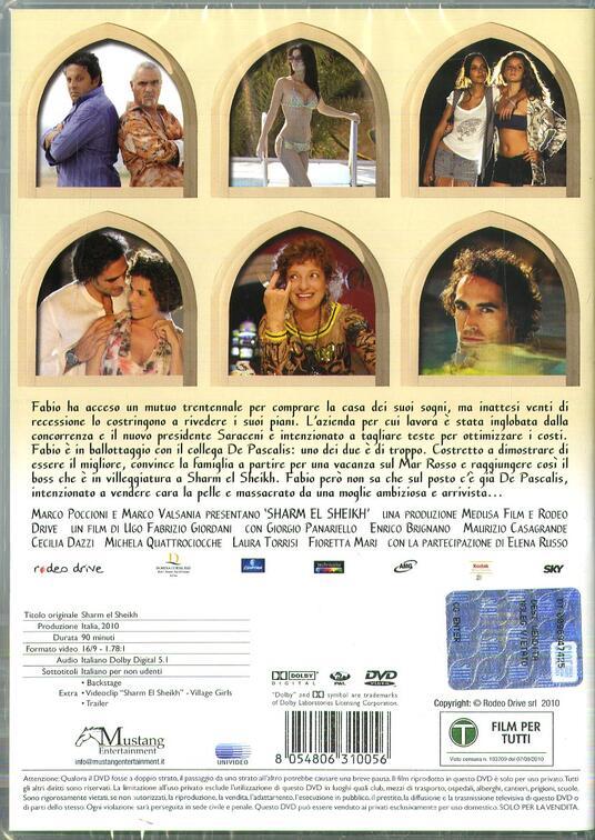 Sharm el Sheik (DVD) di Ugo Fabrizio Giordani - DVD - 2