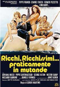 Film Ricchi, ricchissimi... praticamente in mutande (DVD) Sergio Martino