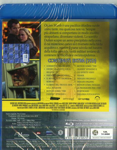 La città verrà distrutta all'alba (Blu-ray) di Breck Eisner - Blu-ray - 2
