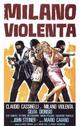 Cover Dvd DVD Milano violenta