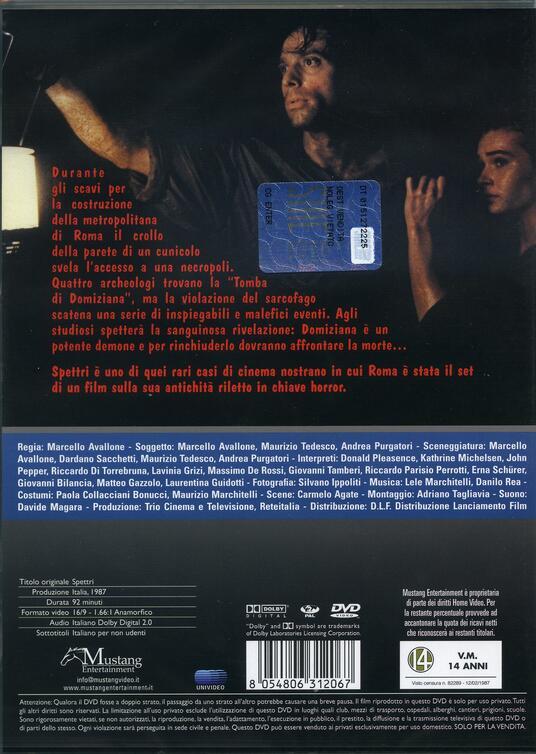 Spettri. Avallone (DVD) di Marcello Avallone - DVD - 2